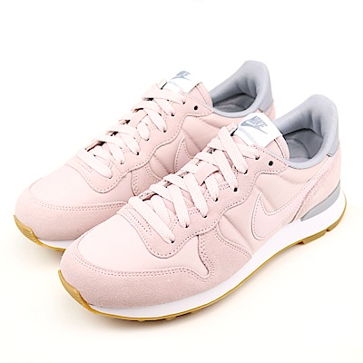 NIKE-INTERNATIONALIST女休閒鞋-粉紫