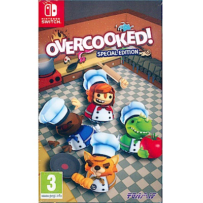 煮過頭 特別版 OVERCOOKED - NS Switch 英日文歐版