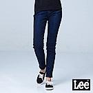 Lee 433 九分高腰合身窄腳牛仔褲/BO-深藍色