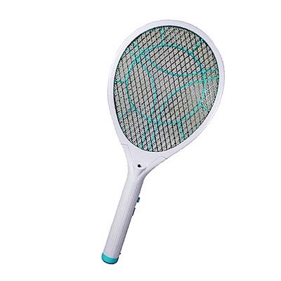 KINYO LED充電式三層防觸電捕蚊拍電蚊拍(CM-2235)蚊蠅跑不掉