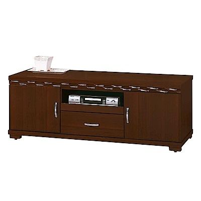 綠活居 盧比時尚5尺木紋電視櫃/視聽櫃-148.5x48.3x54cm-免組