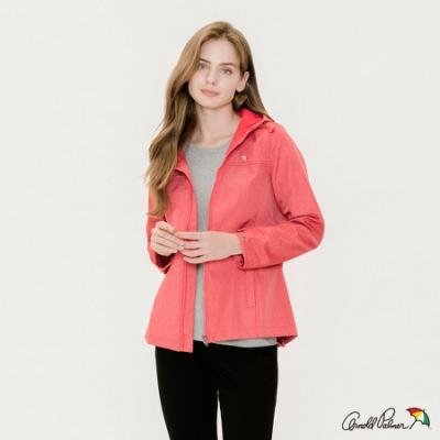 Arnold Palmer -女裝-防風貼合風衣外套-桃紅色