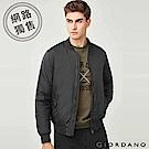 GIORDANO 男裝MA1鋪棉飛行外套/夾克-09 標誌黑