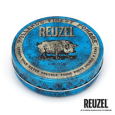 REUZEL Blue Pomade藍豬超強水性髮油113g