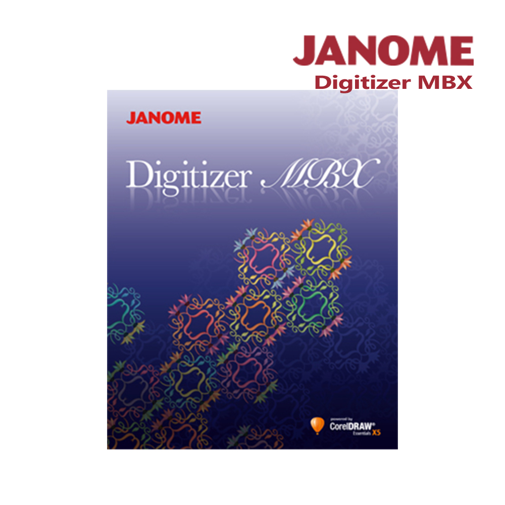 日本車樂美JANOME Digitizer MBX 刺繡設計軟體 @ Y!購物