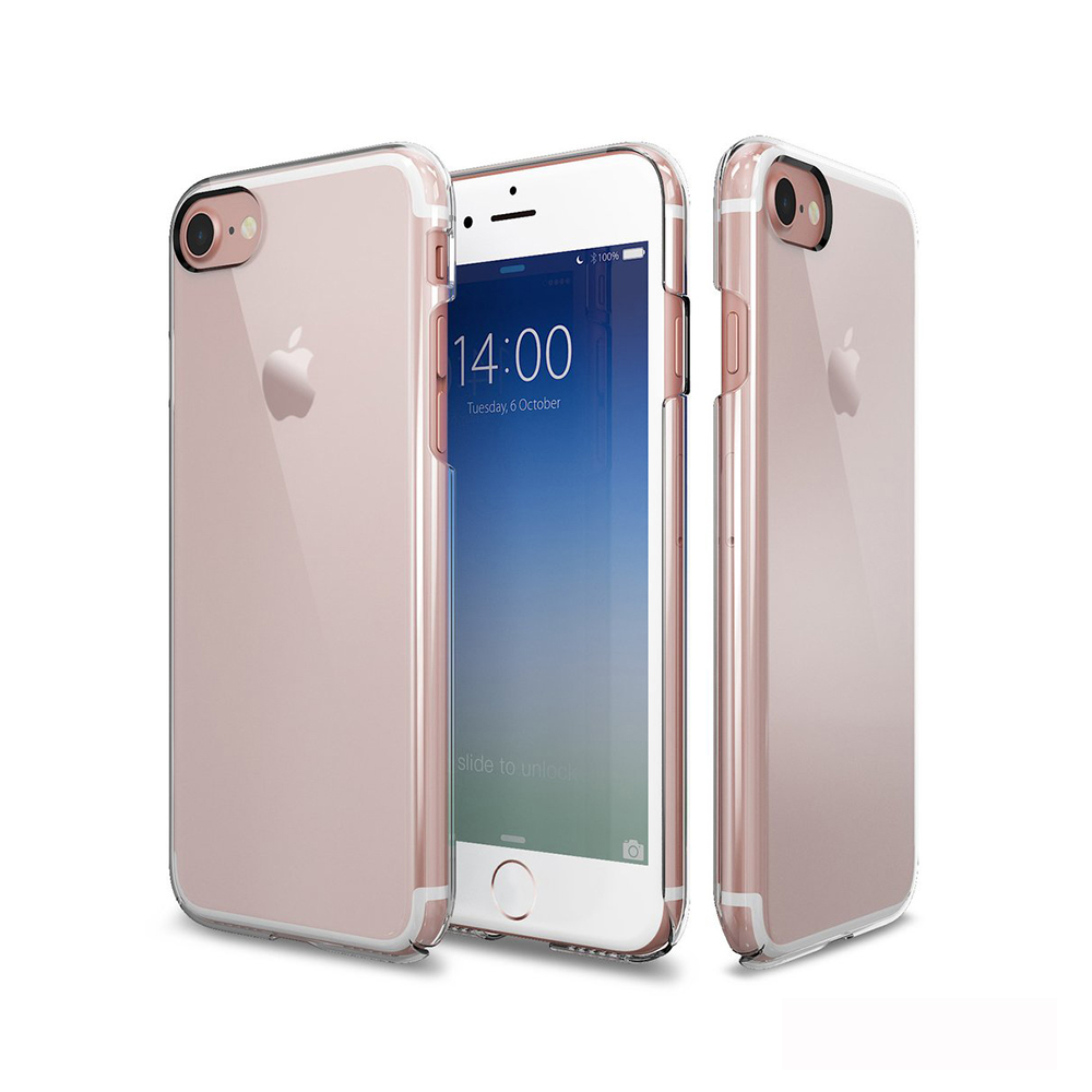 Patchworks iPhone 8 / 7 玄武全包覆式透明手機硬殼