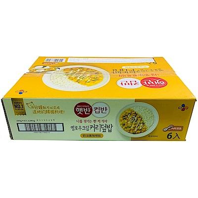 CJ 奶油黃咖哩飯(280gX6入)