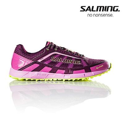 Salming TRAIL T3 寬楦 女戶外野跑鞋 紫粉