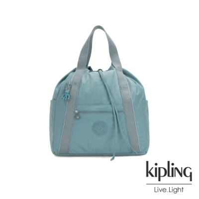 Kipling 冰霜綠兩用側背後背包-大-ART BACKPACK M