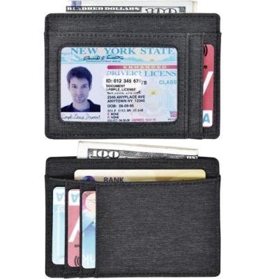 《Kinzd》防潑水防盜證件卡夾(深灰)