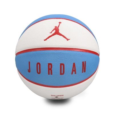Nike 籃球 Jordan Ultimate 8P 喬丹 飛人 標準球 7號球 室內外 耐磨 藍白紅 J000264518307