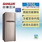 [無卡分期-12期] SANLUX台灣三洋 310L 1級定頻2門電冰箱 SR-C310B1