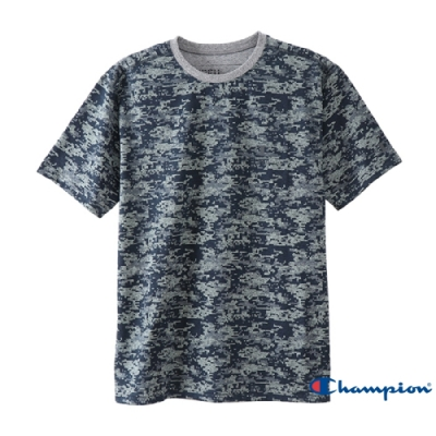 Champion CPFU數位迷彩短袖T恤(87C) 藍灰