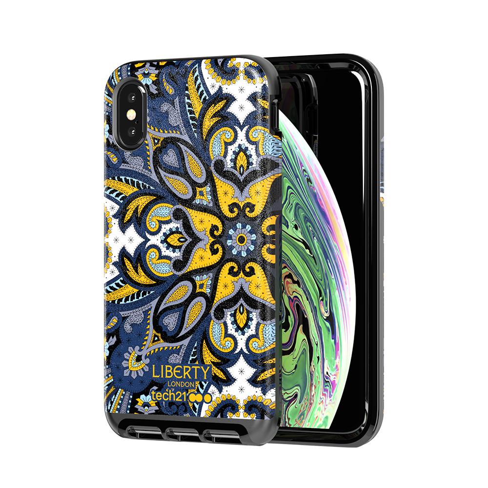 Tech21英國超衝擊EVO LUXE -變形蟲藍-iPhone X/Xs