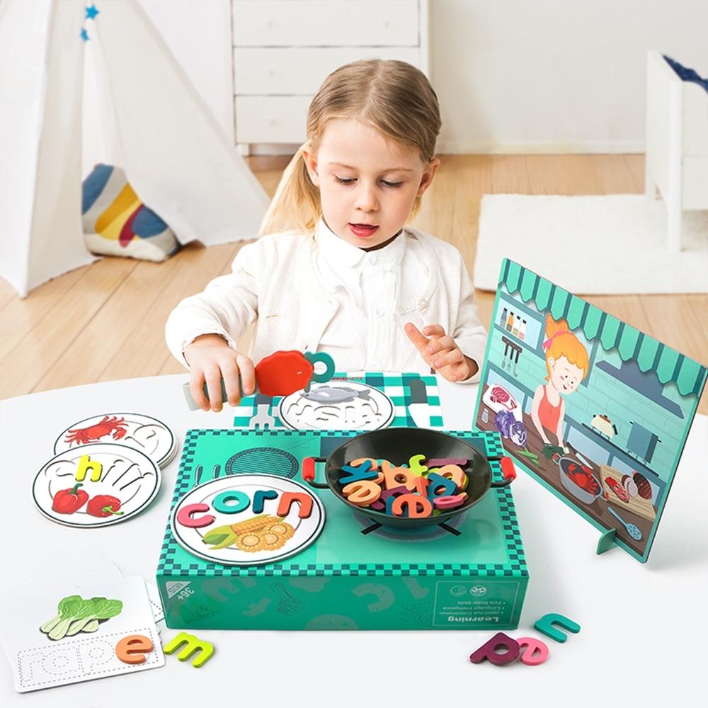 【芬蘭Top Bright】字母ABC遊戲廚房