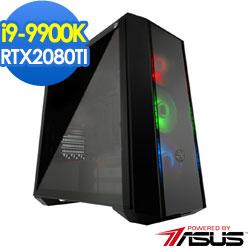 華碩Z390平台[落葉統領]i9八核RTX2080TI獨顯SSD電玩機