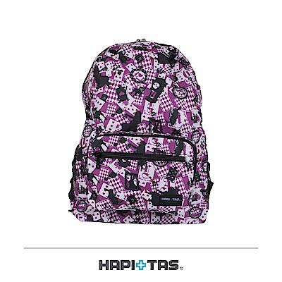 日本HAPI+TAS 摺疊後背包 新版粉色愛麗絲