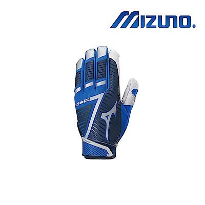 Mizuno B-303 打擊手套 深藍x寶藍 330396.5152