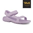 TEVA 童 Hurricane Drift 水陸輕量涼鞋-粉紫