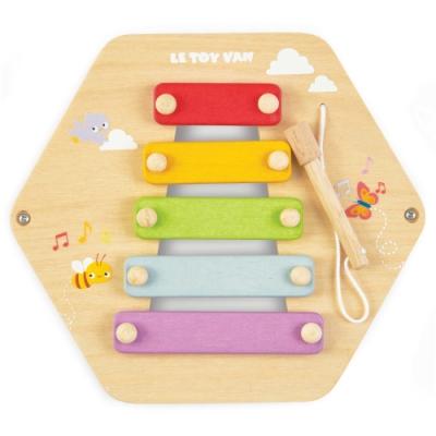 英國 Le Toy Van- Petilou系列啟蒙玩具系列-木琴敲敲瓦片啟蒙玩具
