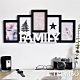 TROMSO 北歐FAMILY5框組-黑框 product thumbnail 1