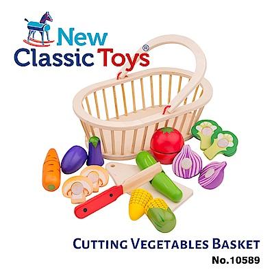 【荷蘭New Classic Toys】蔬果籃切切樂 - 10589