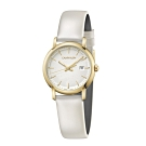 Calvin Klein CK極簡優雅皮帶腕錶(K9H235L6)32mm