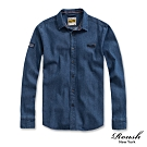 Roush 小領片水洗牛仔襯衫(2色)