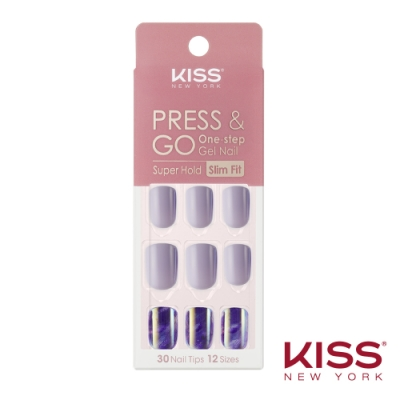 KISS New York-Press&Go頂級光療指甲貼片-人魚仙子(KPNS07K)