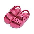 BuyGlasses 輕量雙帶防水兒童涼鞋-桃