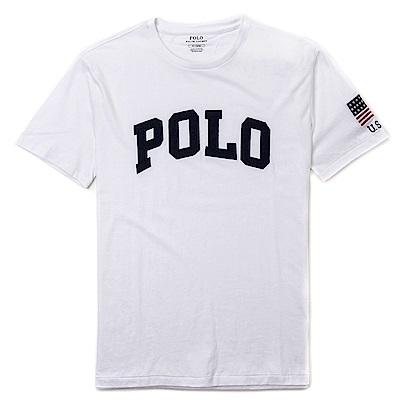Polo Rlaph Lauren 經典Logo設計短袖T恤-白色