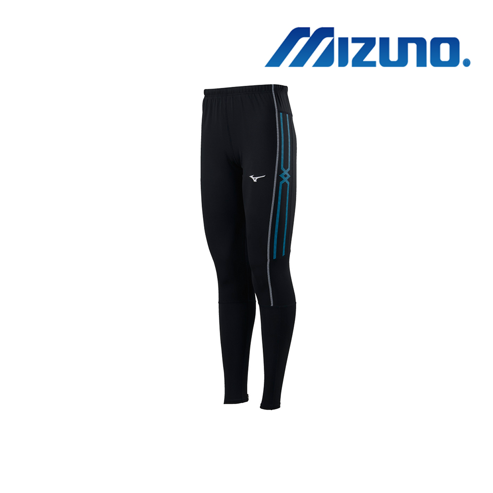 MIZUNO 緊身褲(全長型) 黑 U2TB9G0509