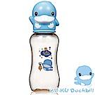 KU.KU酷咕鴨-星燦造型PPSU標準葫蘆奶瓶-280ml (藍/粉)