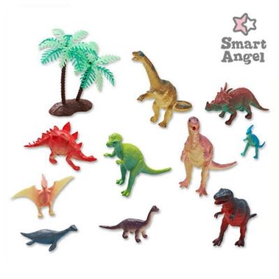 西松屋 Smart Angel  恐龍王國-造型模型玩具/公仔