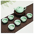 【原藝坊】悠然愜意 青瓷鯉魚茶壺套組