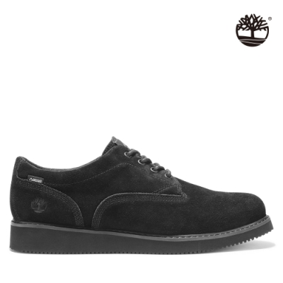 Timberland 男款黑色絨面革休閒鞋|A2DX3