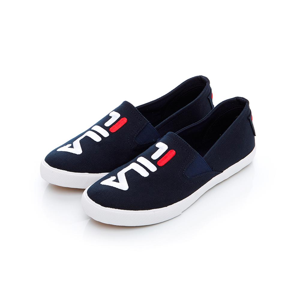 FILA 女款休閒鞋-丈青 5-C115T-331