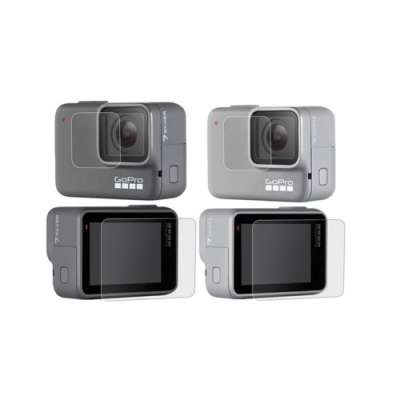 【LOTUS】GOPRO螢幕保護貼 保護膜 HERO 7  白/銀適用