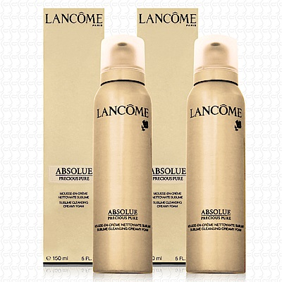LANCOME蘭蔻 絕對完美極緻活化洗面乳150mlx2