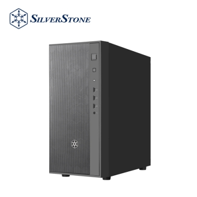 SilverStone銀欣 FARA R1 FAR1B 簡單典雅中塔式機殼(黑/鐵側板)