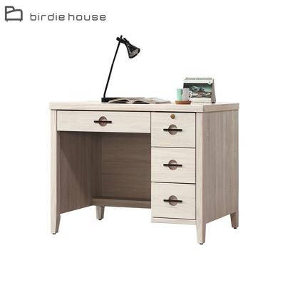 柏蒂家居-米凱拉3.5尺四抽書桌/工作桌-105x58x78cm