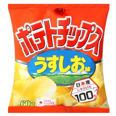 湖池屋 薄鹽薯片(60g)