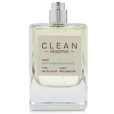 CLEAN RESERVE WARM COTTON溫暖棉花淡香精100ml Tester
