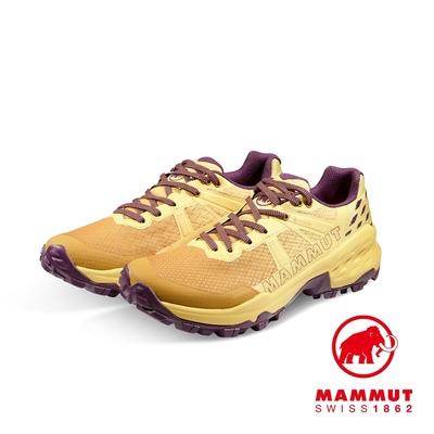 【Mammut 長毛象】Sertig II Low GTX Women GTX低筒健行鞋 金黃/葡萄紫 女款 #3030-04290