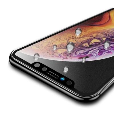 iPhone 11 軟邊 滿版 霧面 9H 鋼化玻璃膜 手機螢幕保護貼