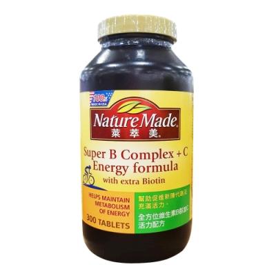 Nature Made 萊萃美 全方位維生素B群加C 活力配方 300粒