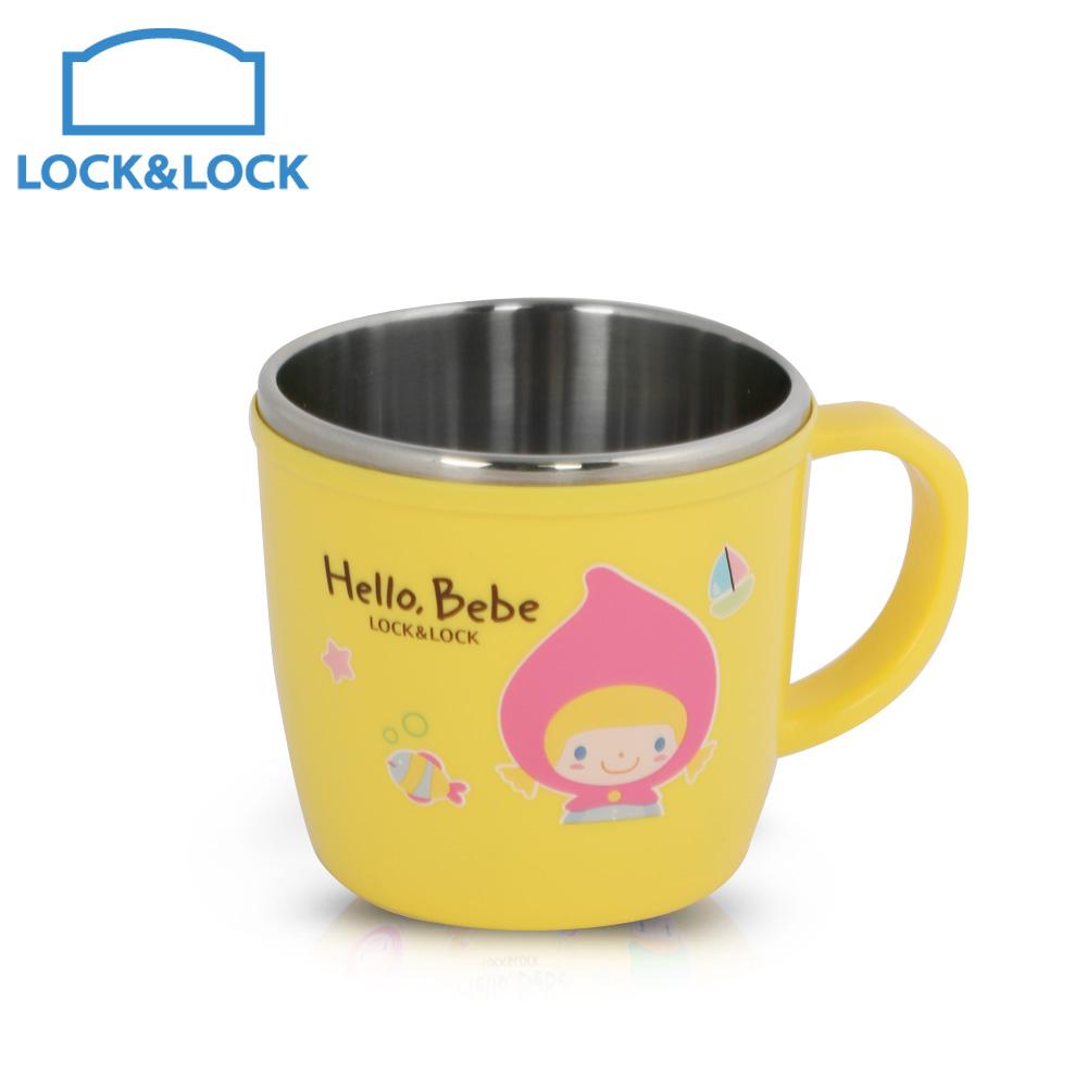 樂扣樂扣HELLO BEBE不鏽鋼兒童馬克杯230ml(快)