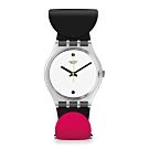 Swatch Bau 包浩斯系列手錶 BAU-BBLES 多彩泡泡 -34mm