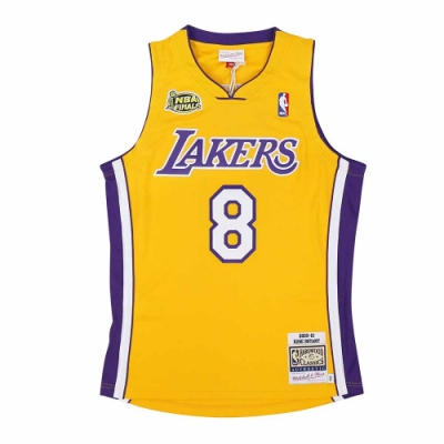 M&N Authentic球員版復古球衣 湖人隊 00-01 #24 Kobe Bryant