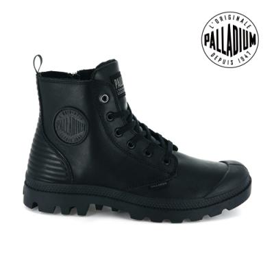 PALLADIUM Pampa Hi Zip CYBER皮革靴-中性款-黑